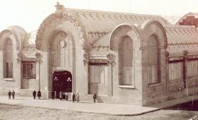 El Gegant Modernista, el Mercat Central de Tarragona
